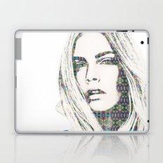 Cara Delevigne Laptop & iPad Skin