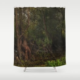 mystic willow Shower Curtain