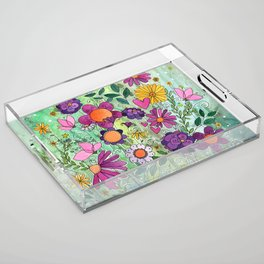 Purple Plum Parfait Acrylic Tray