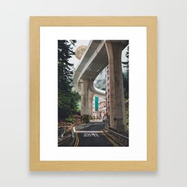 Slow Asia Framed Art Print