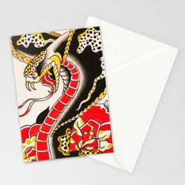 KG Art Cobra  Stationery Cards