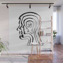Aging / Identity Wall Mural