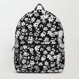 Black Bougainvillea Backpack