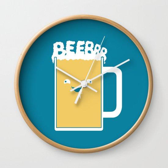 Beerrr Wall Clock
