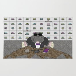 Agent Mole Rug
