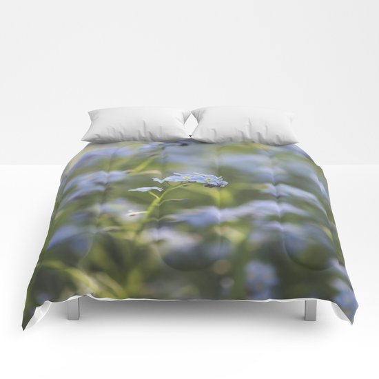 Forget-me-not meadow  Comforters