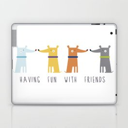 Having fun with Friends Laptop & iPad Skin