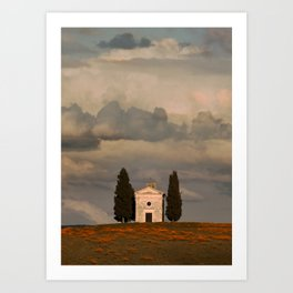 White Chapell Art Print