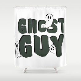 Ghost Guy Shower Curtain