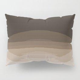 Espresso Brown Ombre Pillow Sham