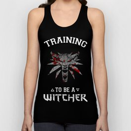 Training to be Witcher Unisex Tank Top
