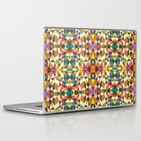 mod Laptop & iPad Skins featuring Mod Tribal by Beth Thompson