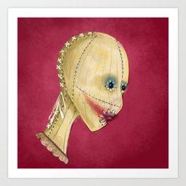 Beauty Mask Art Print