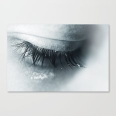Sadness is blue Canvas Print