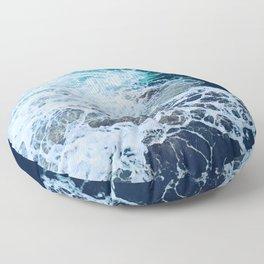 Wonderful Waves Floor Pillow