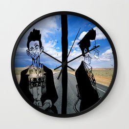 jhonny Cash Wall Clock
