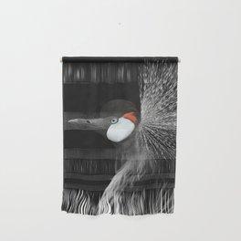 CROWNED CRANE by Monika Strigel Wall Hanging