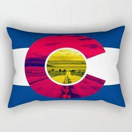 Colorado Road Rectangular Pillow
