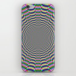 Psychedelic Web iPhone Skin