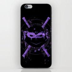 Donatello Turtle iPhone Skin