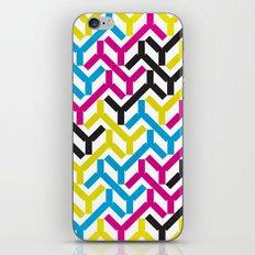 CMYK Geometry Pattern iPhone & iPod Skin