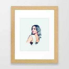 Lana Parrilla #SDCC 2015 Framed Art Print