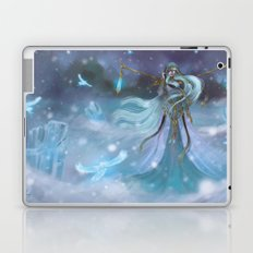 Lady Winter Laptop & iPad Skin