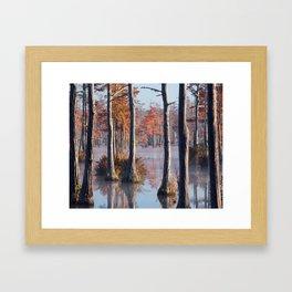 Adams Mill Pond Panorama 09 Framed Art Print