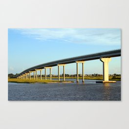 Bridge To The Sea Canvas Print