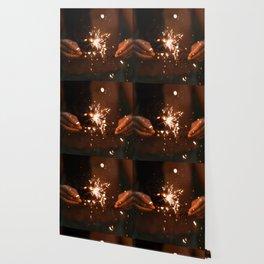 Golden Sparklers (Color) Wallpaper