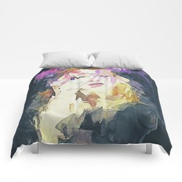 Path - Abstract Portrait Comforters