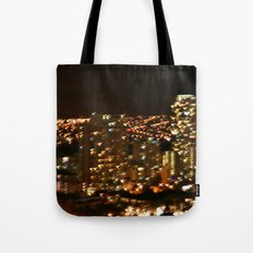 Honolulu City Lights Tote Bag