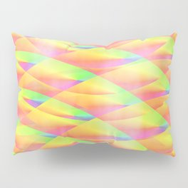 Bright Interference Pillow Sham