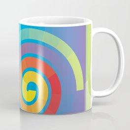 Square Spiral Coffee Mug