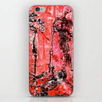in the flesh iPhone & iPod Skins featuring Flesh of my Flesh by Dorian Monsalve - Surreal Scratchart