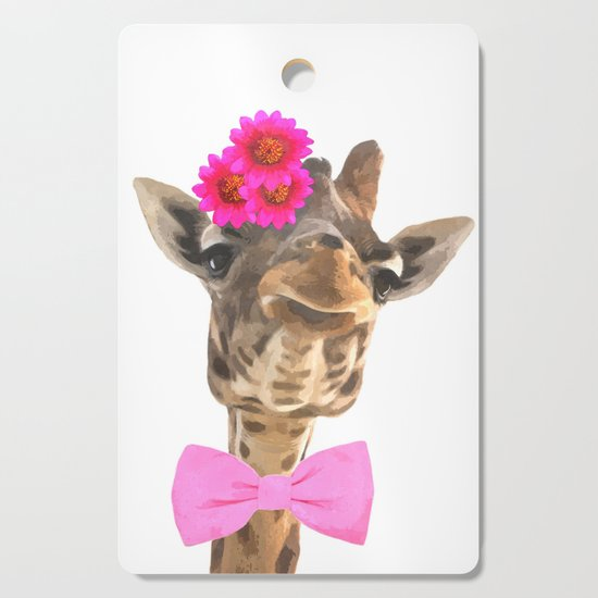 Giraffe funny animal illustration by alemi