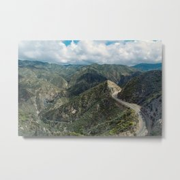 Angeles National Forest III Metal Print