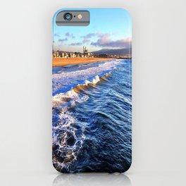 "Hermosa Beach ""On the Pier 2"" iPhone Case"