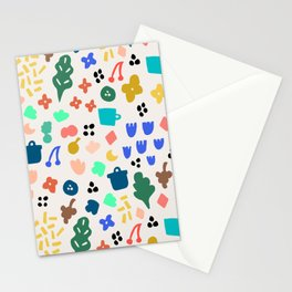 Fleurs au vent Stationery Cards