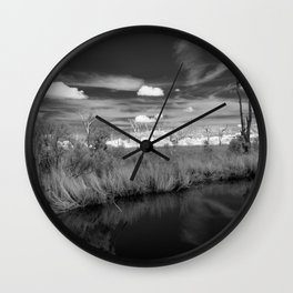 Cypress Cemetery Wall Clock