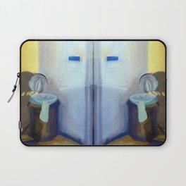 Portrait of a Trashcan Laptop Sleeve