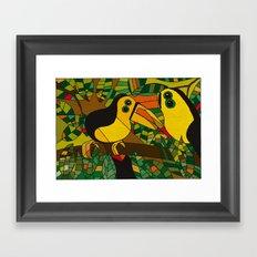 Twocans Framed Art Print