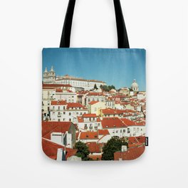 Lisbon view, Portugal Analog 6x6 Kodal Ektar 100 (RR 166) Tote Bag