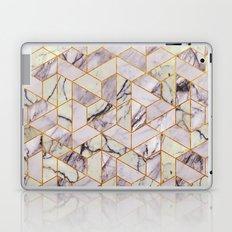 Vintage Marble Art Deco Pattern Laptop & iPad Skin