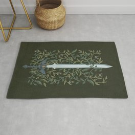 Sword of Time Rug