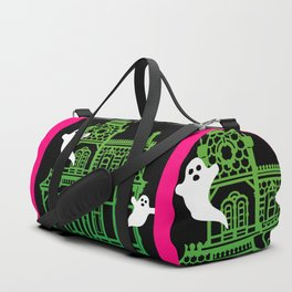 Haunted Victorian House Duffle Bag