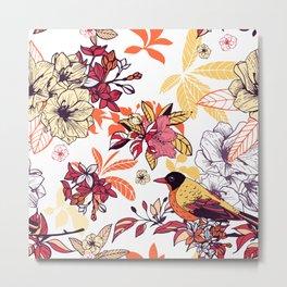 Summerland Birds IV Metal Print