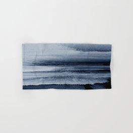 Abstract black painting 2 Hand & Bath Towel