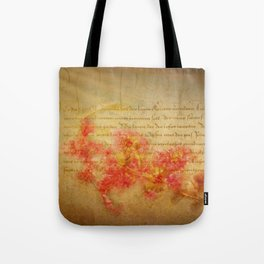 Flirtation Tote Bag