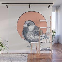 Japanese Sparrow Wall Mural